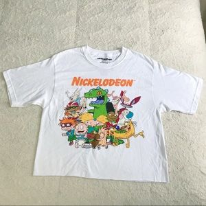 Nickelodeon Character Cropped T Shirt